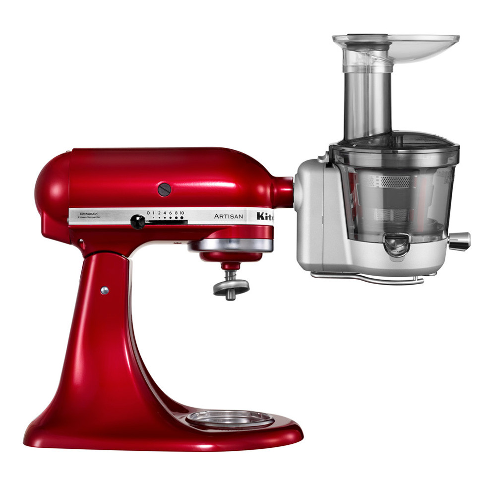 Kitchenaid Maximum Extraction Slow Juicer : KitchenAid Maximum Extraction Slow Juicer and Sauce Attachment