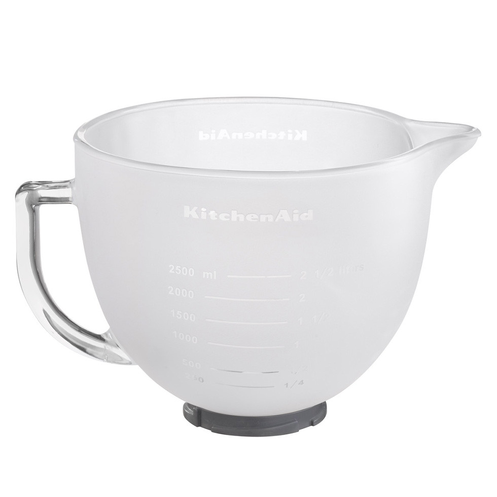 KitchenAid ARTISAN 4.8L Frosted Glass Bowl